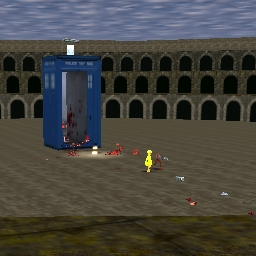 Tardis in the Colosseum